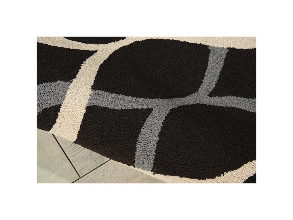 Nourison Decor18' X 10' Black Rug