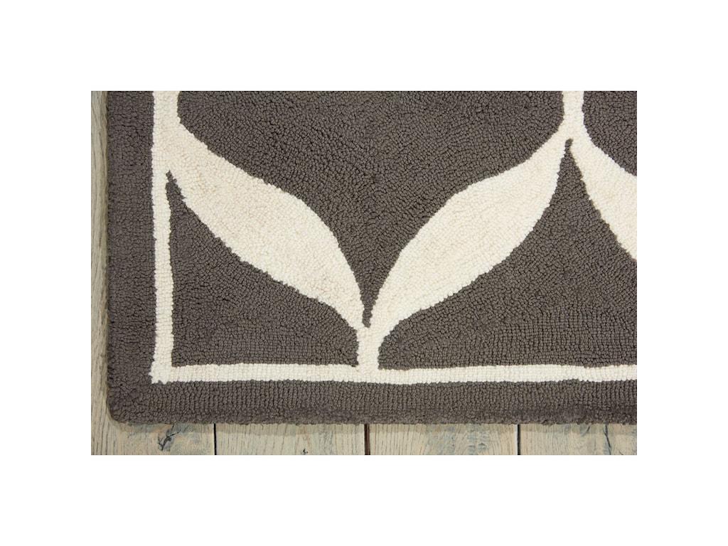 Nourison Decor15' X 7' Grey/White Rug