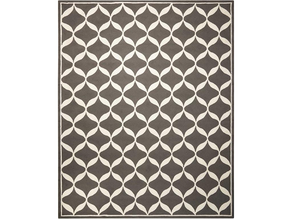Nourison Decor18' X 10' Grey/White Rug
