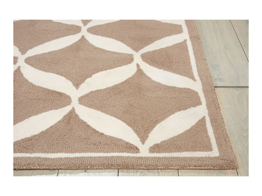 Nourison Decor18' X 10' Taupe/White Rug