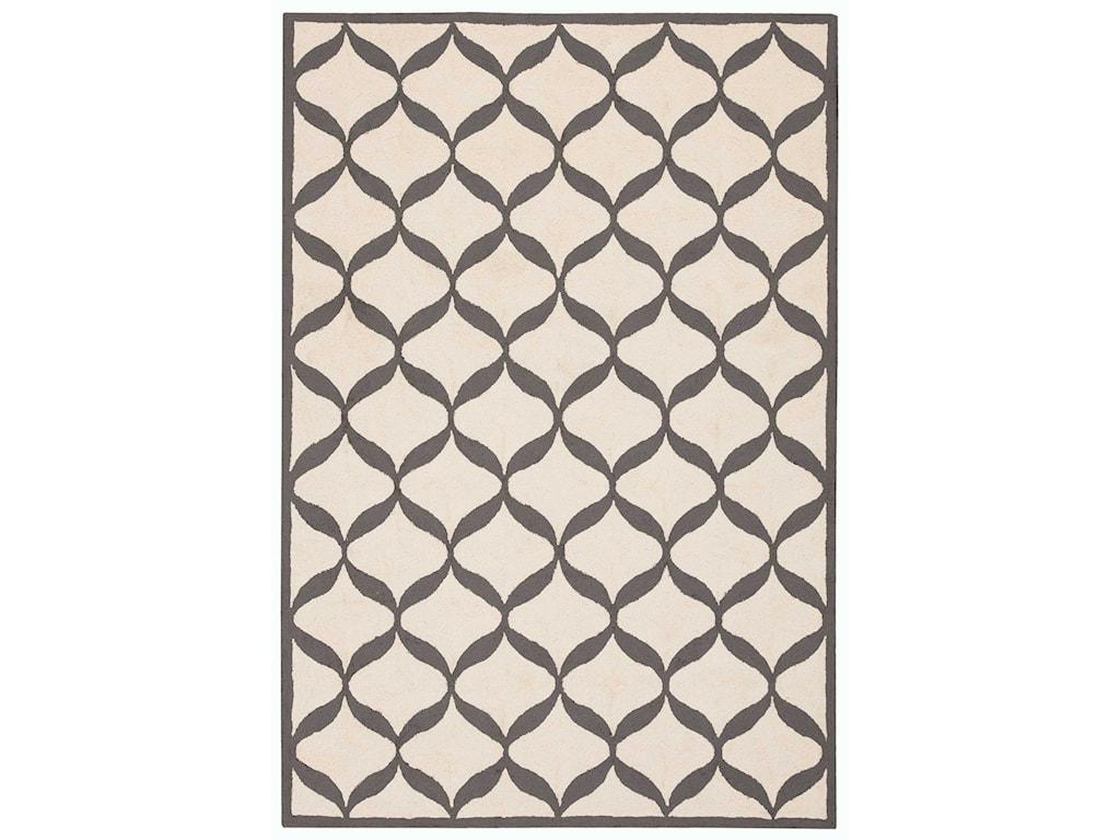 Nourison Decor18' X 10' White/Light Grey Rug