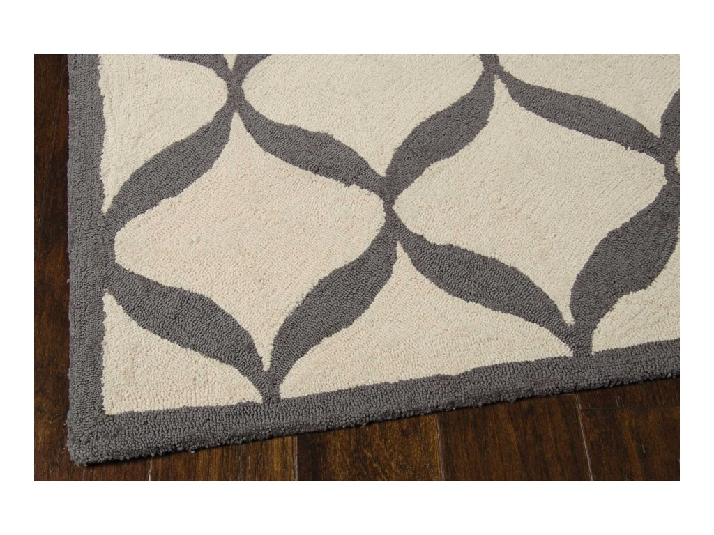 Nourison Decor18' X 10' White/Light Grey Rug
