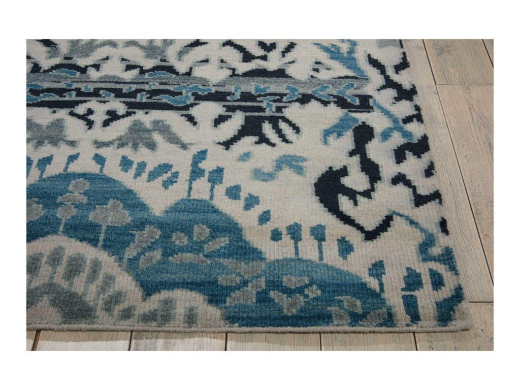 Nourison Dune12' x 15' Indigo Rectangle Rug