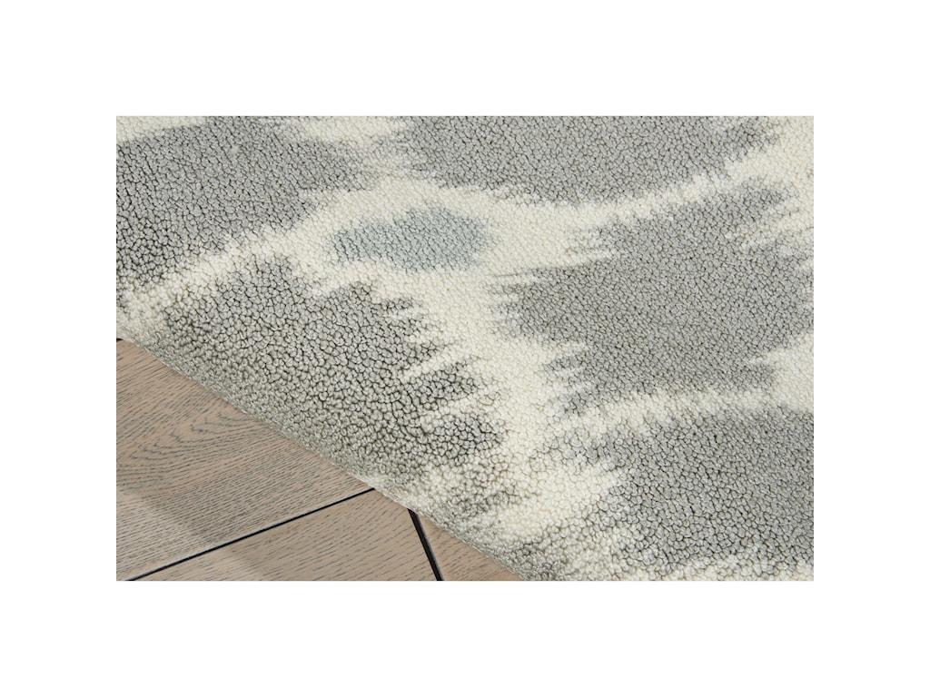 Nourison Enhance5' x 7' Grey Rectangle Rug