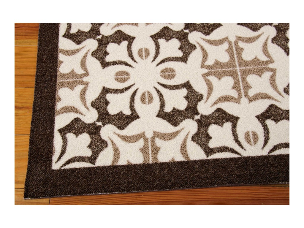 Nourison Enhance8' x 10' Brown Rectangle Rug