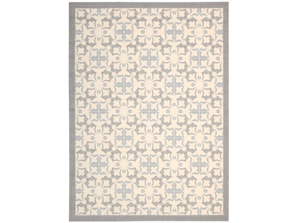 Nourison Enhance4' x 6' Stone Rectangle Rug