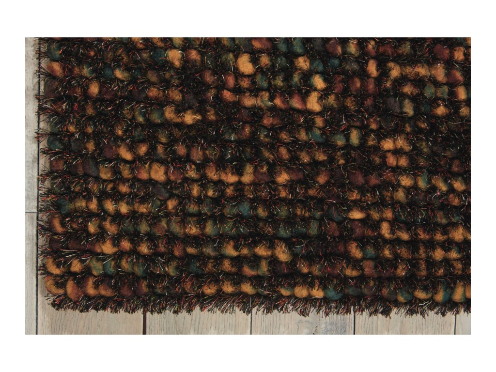 Nourison Fantasia8' x 11' Brown Rectangle Rug