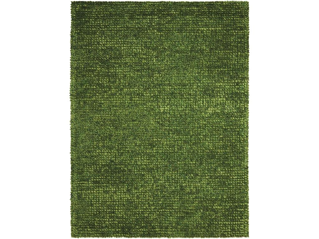 Nourison Fantasia8' x 11' Green Rectangle Rug