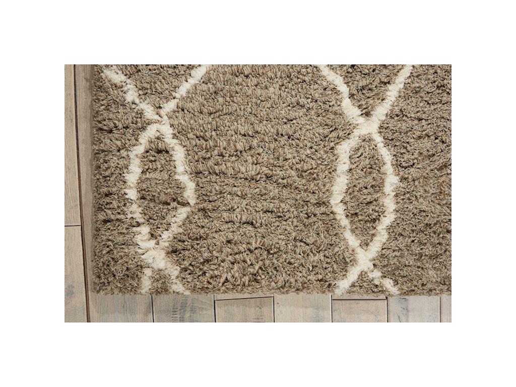 Nourison Galway5' x 7' Mocha/Iv Rectangle Rug