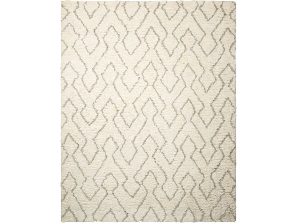 Nourison Galway5' x 7' Ivory/Sage Rectangle Rug