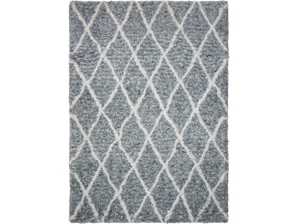 Nourison Galway5' X 7' Grey/Ivory           Rug