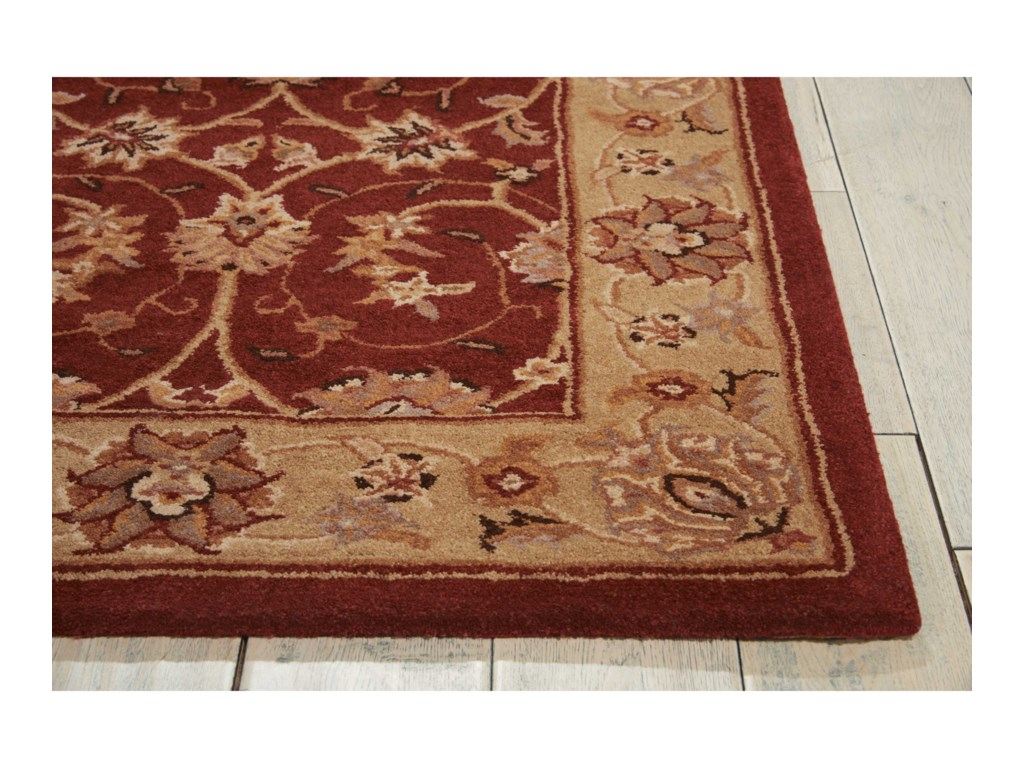 Nourison Heritage Hall12' x 15' Lacquer Rectangle Rug