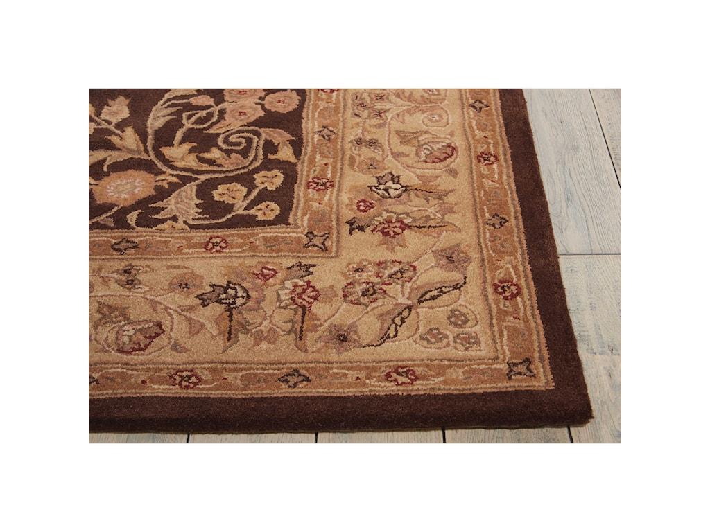 Nourison Heritage Hall12' x 15' Brown Rectangle Rug