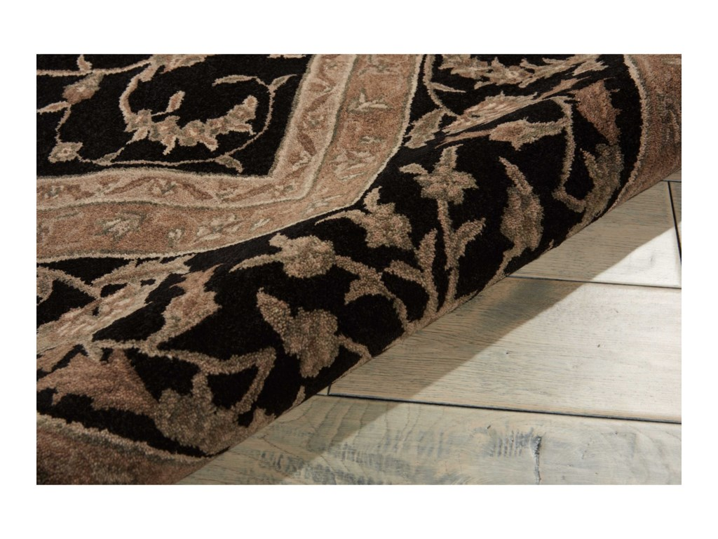 Nourison Heritage Hall12' x 15' Black Rectangle Rug