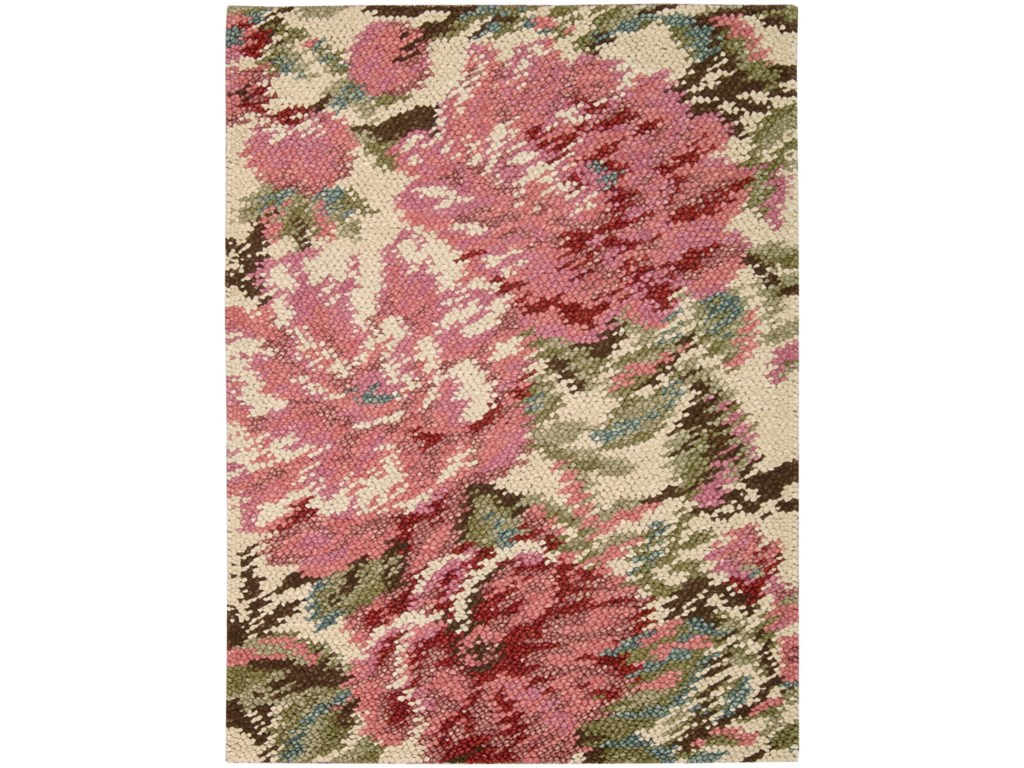 Nourison Impressionist4' x 6' Pastel Rectangle Rug