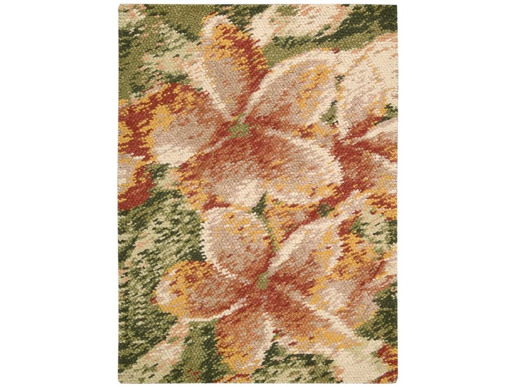 Nourison Impressionist4' x 6' Spring Rectangle Rug