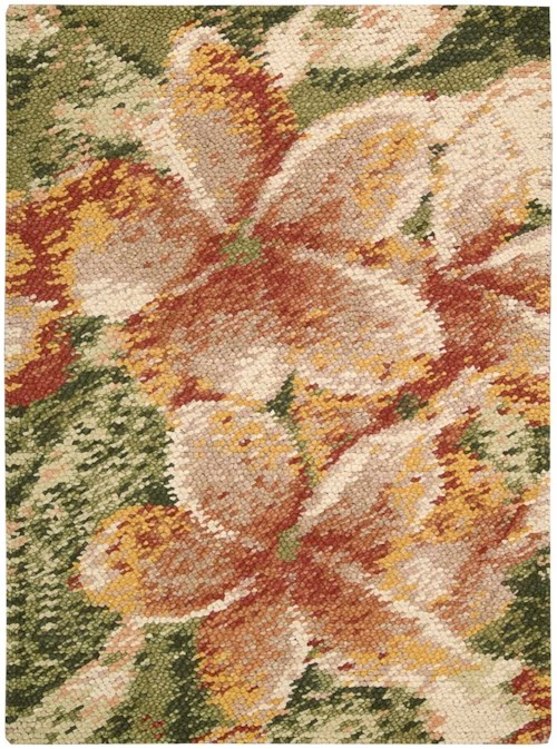 Nourison Impressionist 4' x 6' Spring Rectangle Rug