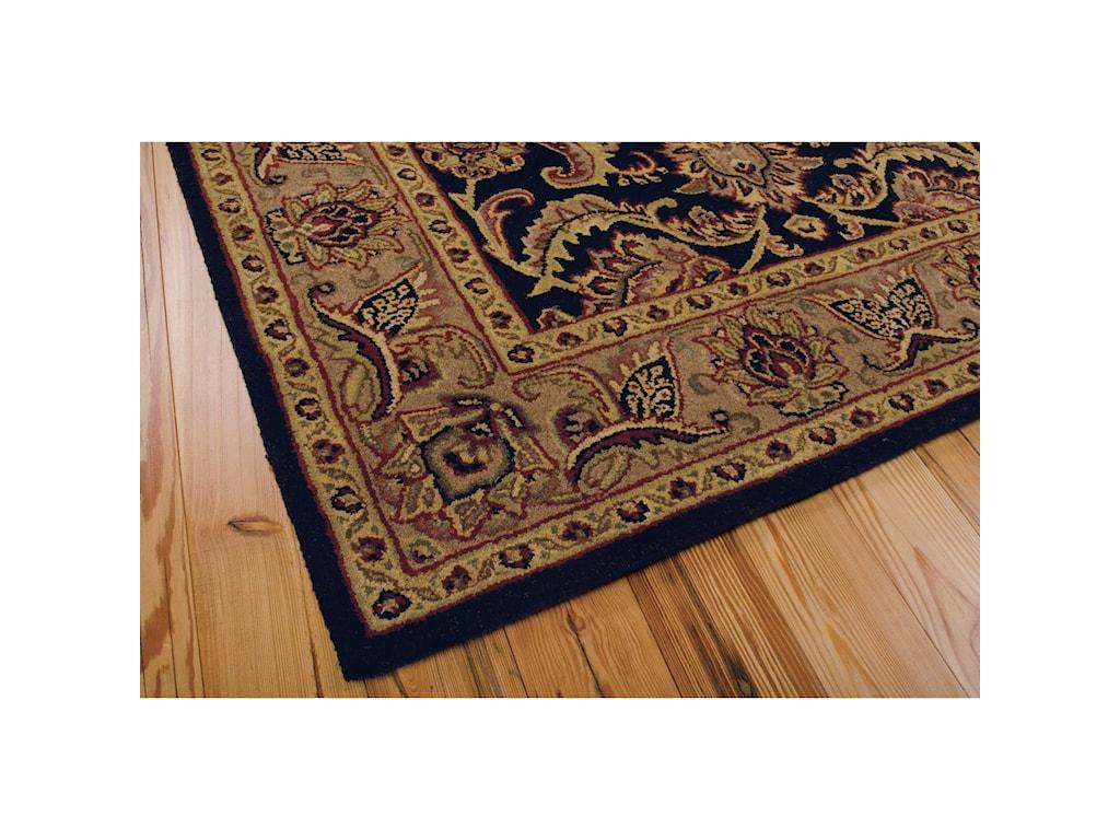 Nourison India House5' x 8' Black Rectangle Rug