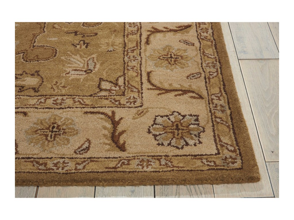 Nourison India House5' x 8' Olive Rectangle Rug