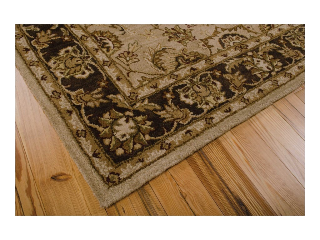 Nourison India House5' x 8' Taupe Rectangle Rug