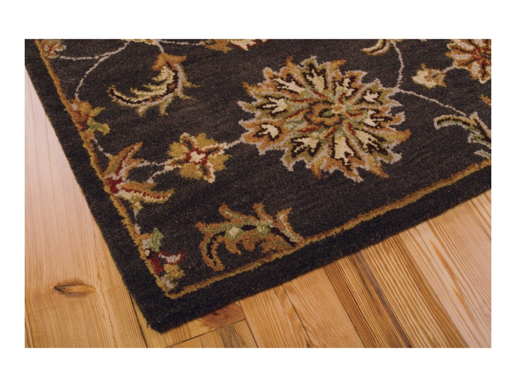 Nourison India House5' x 8' Charcoal Rectangle Rug