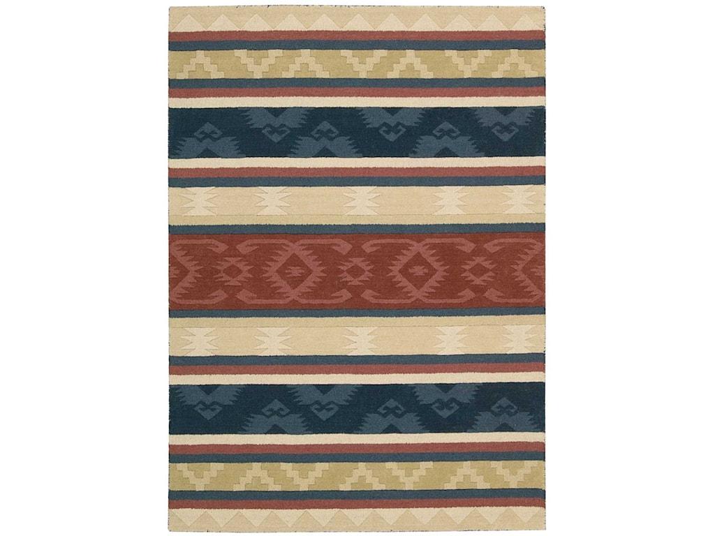 Nourison India House5' x 8' Multicolor Rectangle Rug