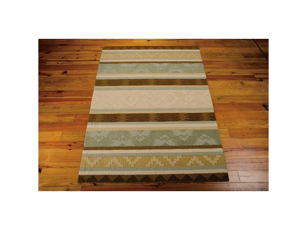 Nourison India House5' x 8' Sage Rectangle Rug