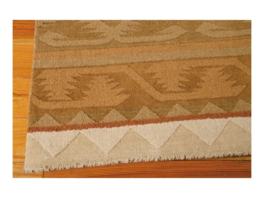 Nourison India House5' x 8' Camel Rectangle Rug
