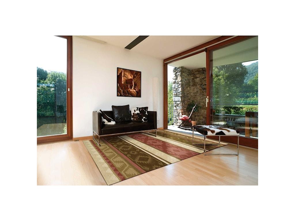 Nourison India House5' x 8' Espre Rectangle Rug