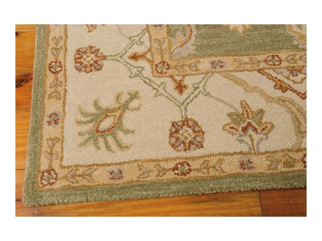 Nourison India House5' x 8' Kiwi Rectangle Rug