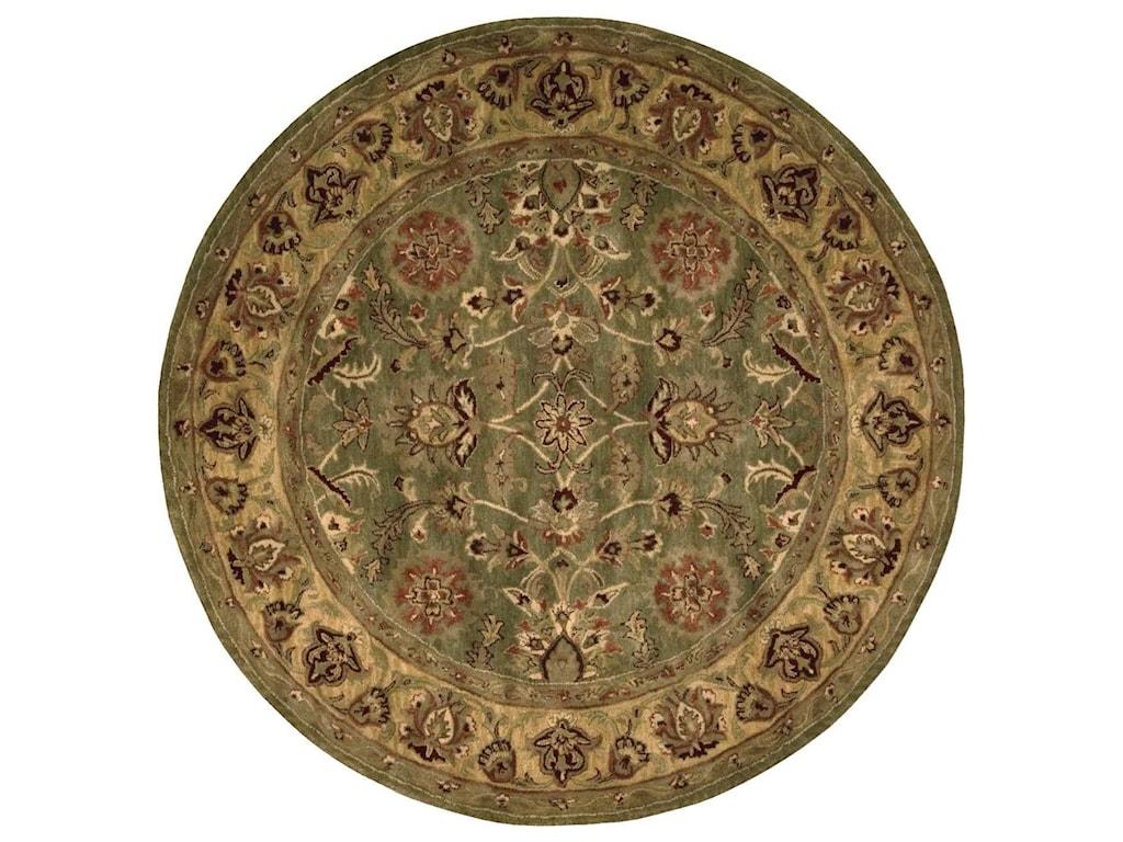 Nourison Jaipur6' x 6' Green Round Rug