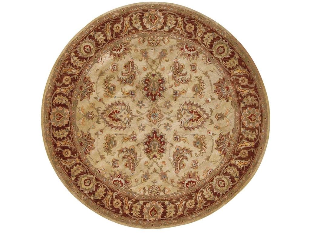 Nourison Jaipur6' x 6' Beige Round Rug
