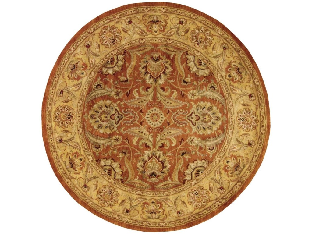 Nourison Jaipur8' x 8' Rust Round Rug