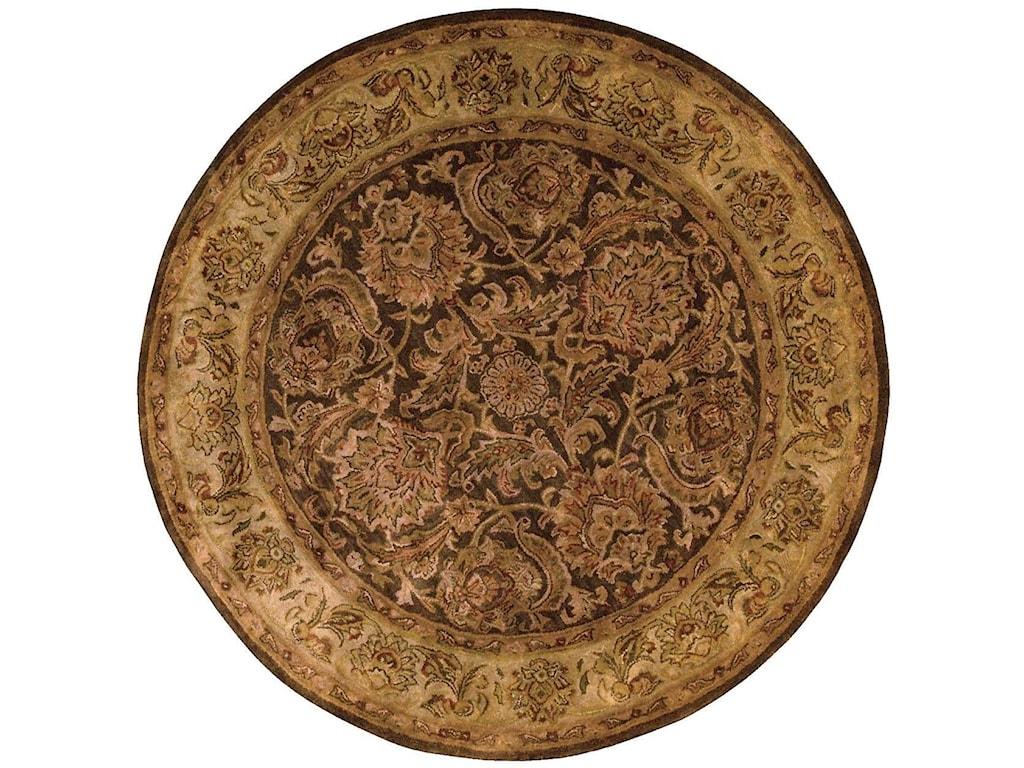 Nourison Jaipur8' x 8' Brown Round Rug