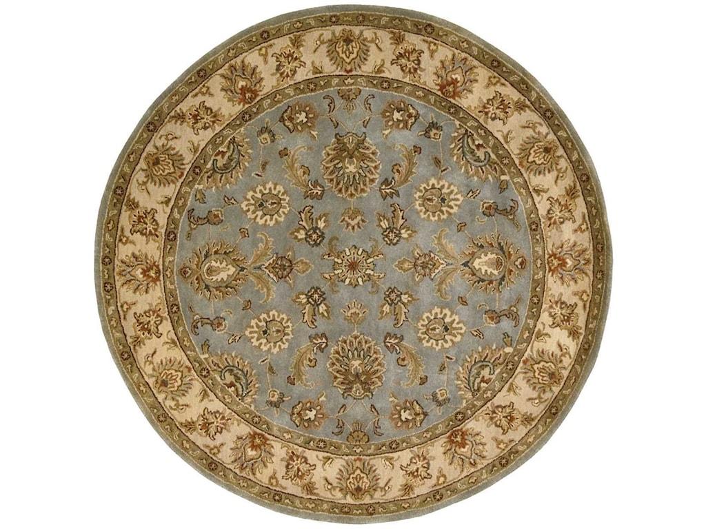 Nourison Jaipur6' x 6' Light Blue Round Rug