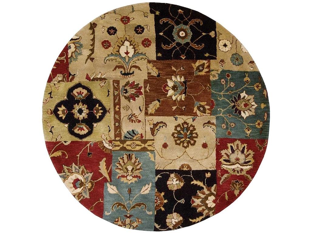 Nourison Jaipur8' x 8' Multicolor Round Rug