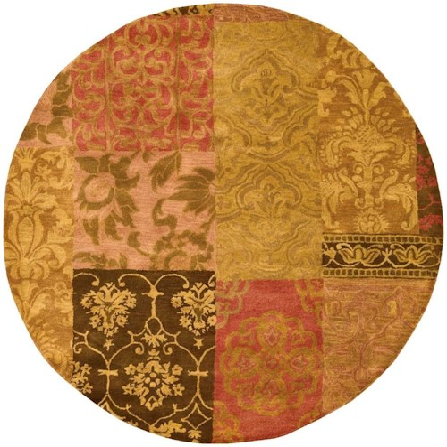 Nourison Jaipur 8' x 8' Multicolor Round Rug