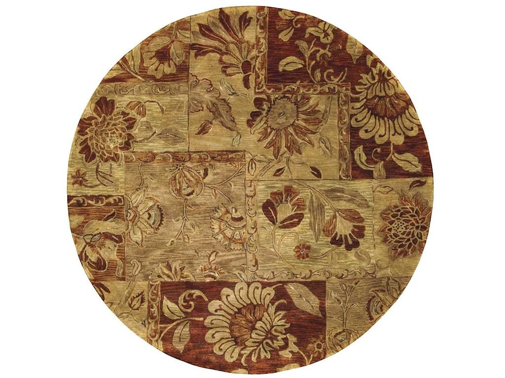 Nourison Jaipur6' x 6' Multicolor Round Rug