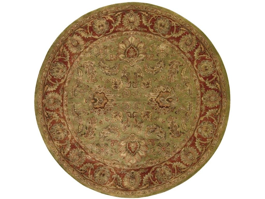Nourison Jaipur6' x 6' Olive Round Rug