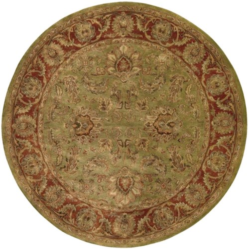 Nourison Jaipur 6' x 6' Olive Round Rug