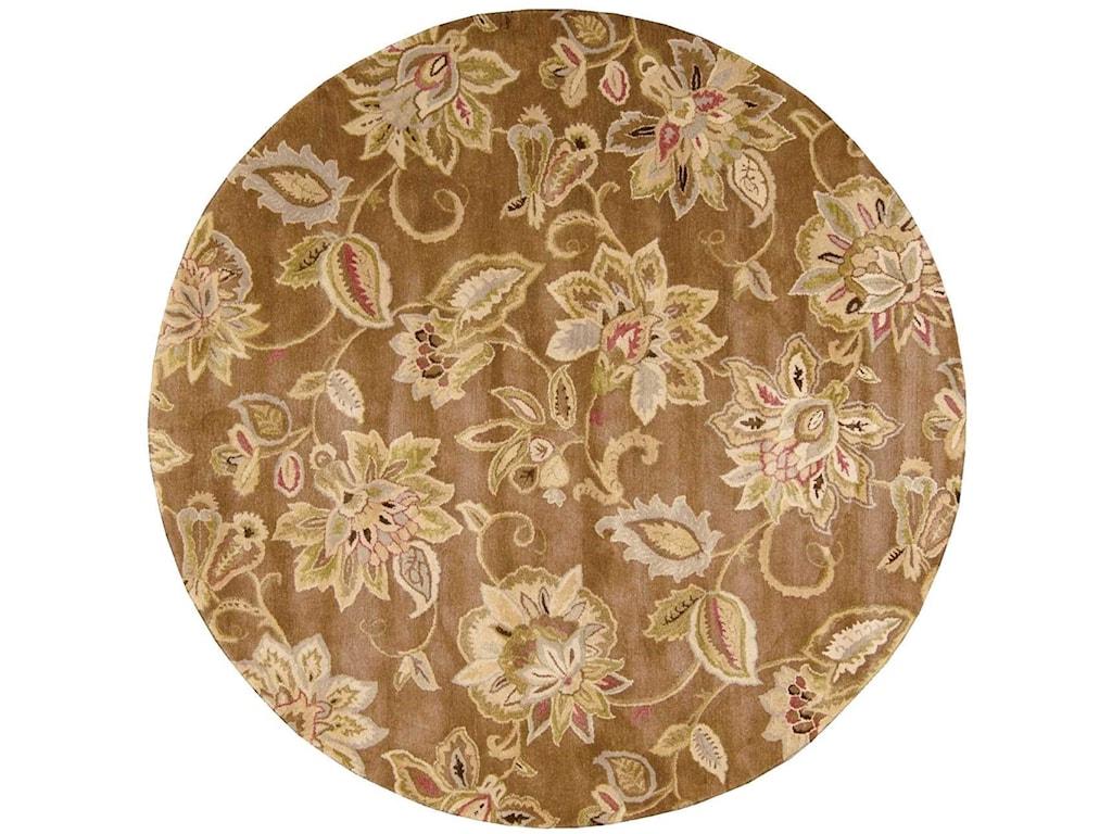 Nourison Jaipur6' x 6' Bronze Round Rug