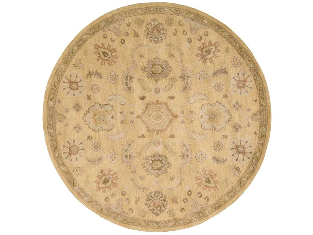 Nourison Jaipur6' x 6' Light Gold Round Rug