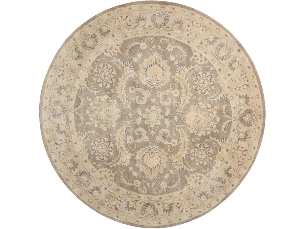 Nourison Jaipur8' x 8' Taupe Round Rug