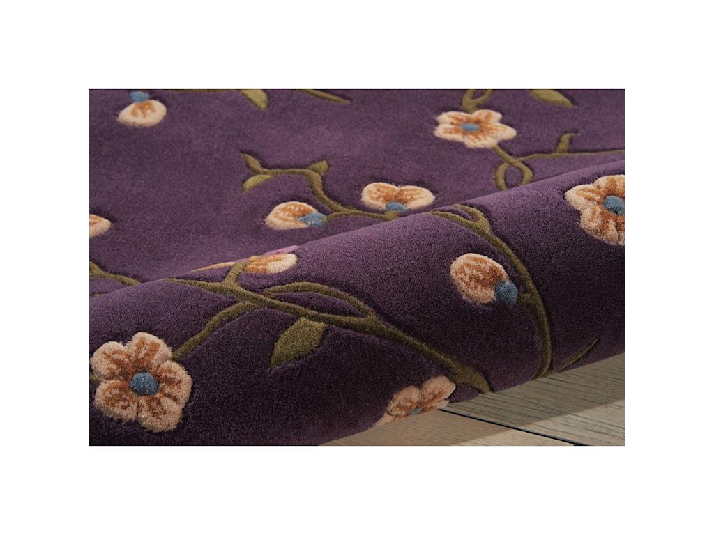 Nourison Julian8' x 8' Lavender Round Rug