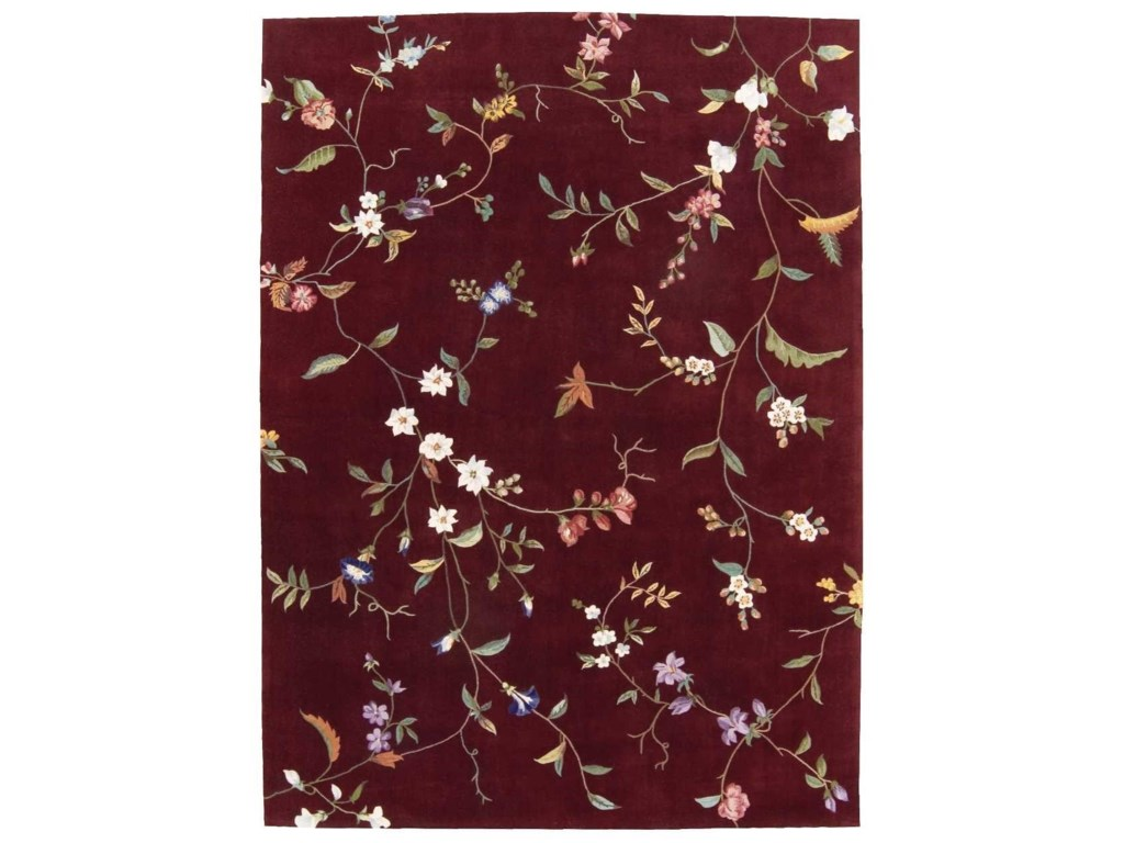 Nourison Julian8' x 11' Ruby Rectangle Rug