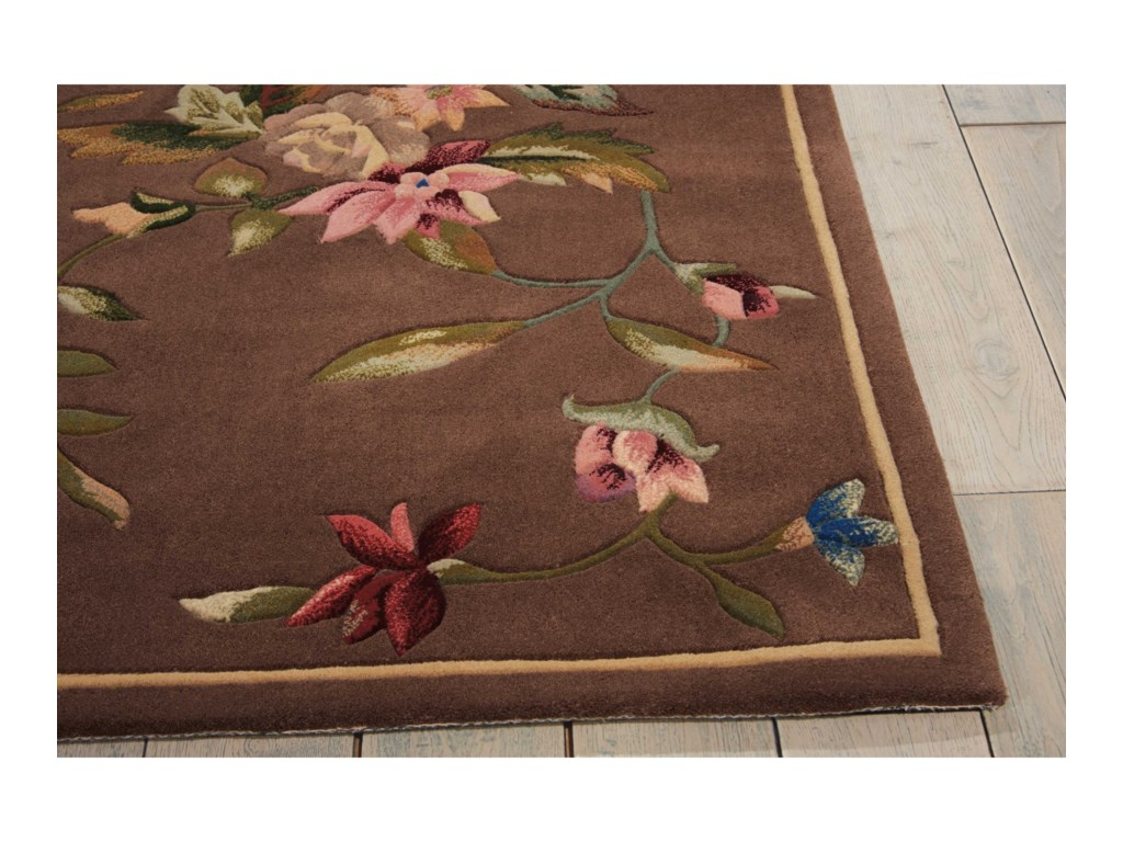 Nourison Julian8' x 11' Mushroom Rectangle Rug