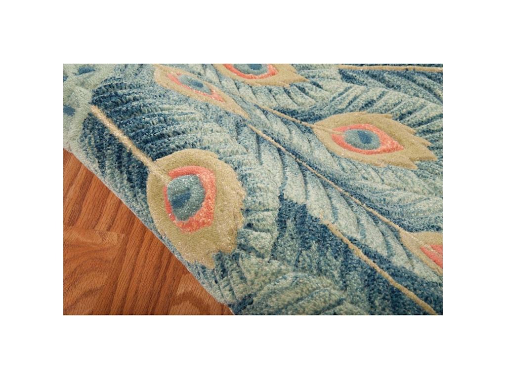 Nourison Moda8' x 11' Peacock Rectangle Rug