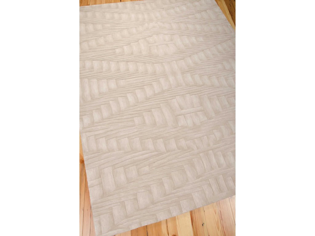 Nourison Moda8' x 11' Shell Rectangle Rug