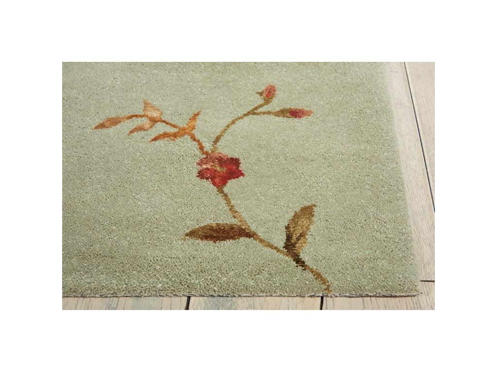 Nourison Modern Elegance8' x 11' Sage Rectangle Rug