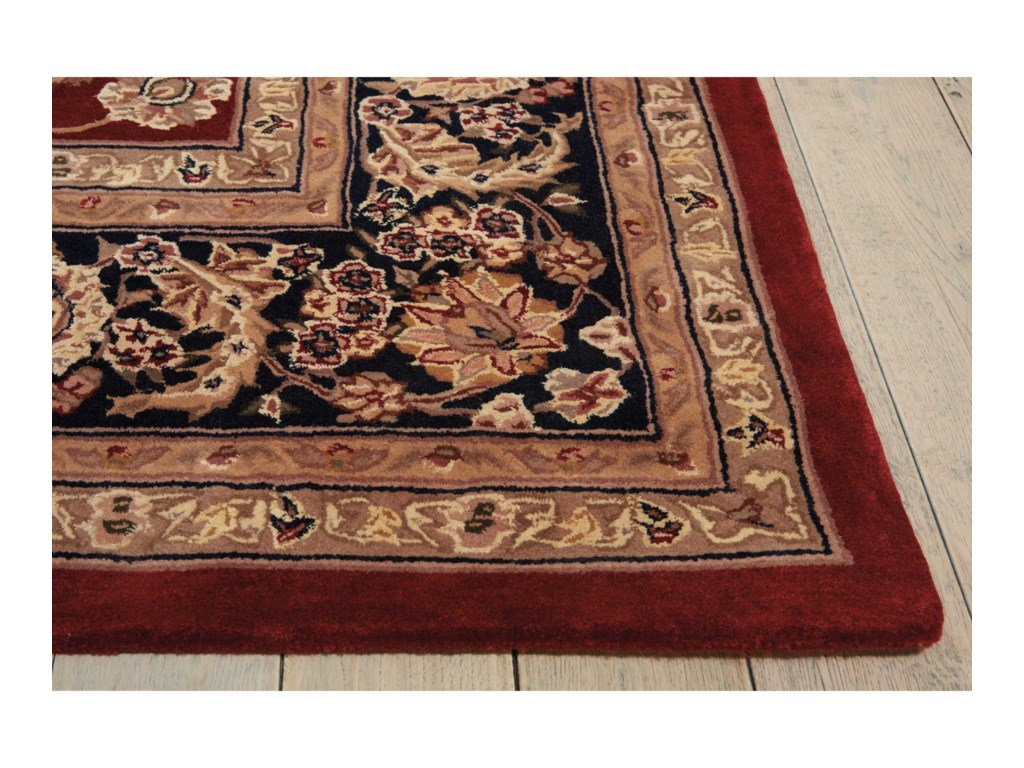 Nourison Nourison 200012' x 15' Burgundy Rectangle Rug